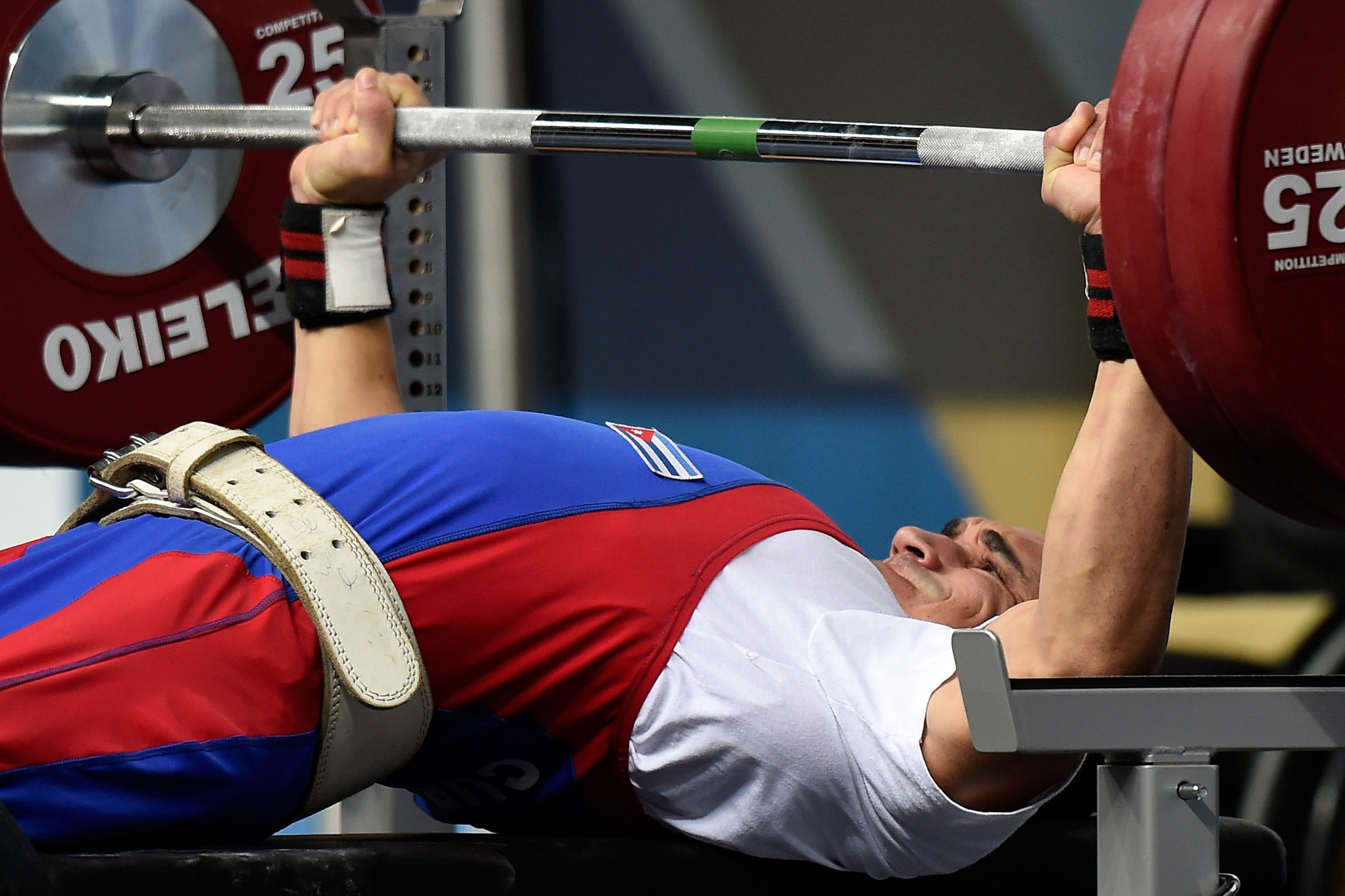 Cuba collect two golds on opening day of World Para Powerlifting World Cup in Lima