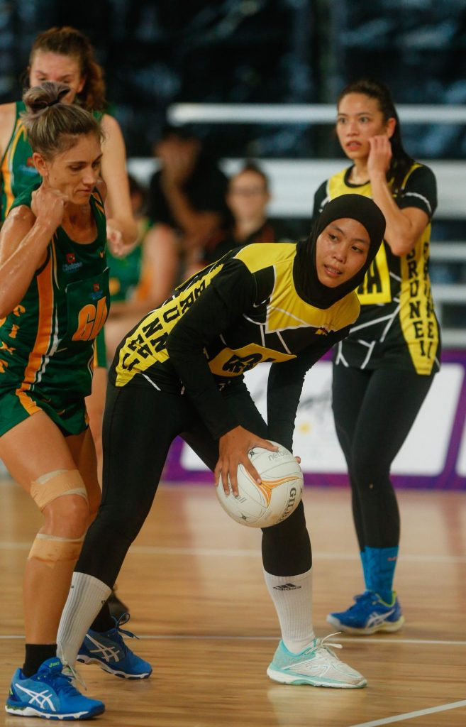 Pints NT earned a 54-36 win over Brunei Darussalam in the netball bronze medal match on the final day of the Arafura Games in Darwin ©Arafura Games