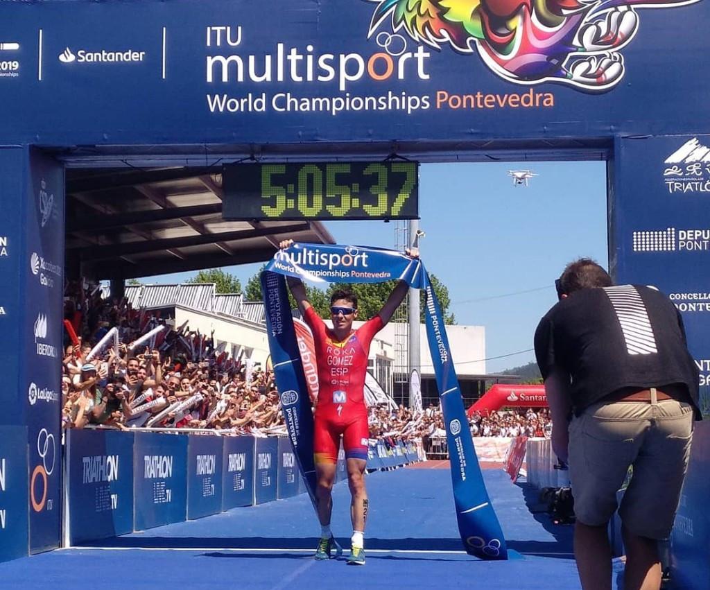 Gómez claims maiden ITU Long Distance Triathlon World Championships title