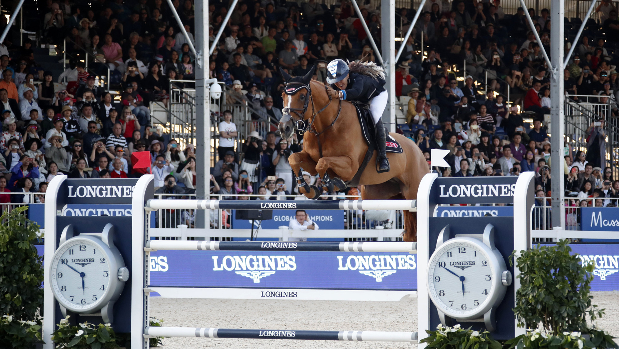 Goldstein becomes first woman to win Shanghai Longines Global Champions Tour Grand Prix