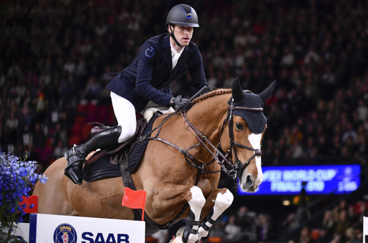 Belgium's Pieter Devos still tops the overall LGCT Grand Prix rankings after taking fifth place in Shanghai ©LGCT