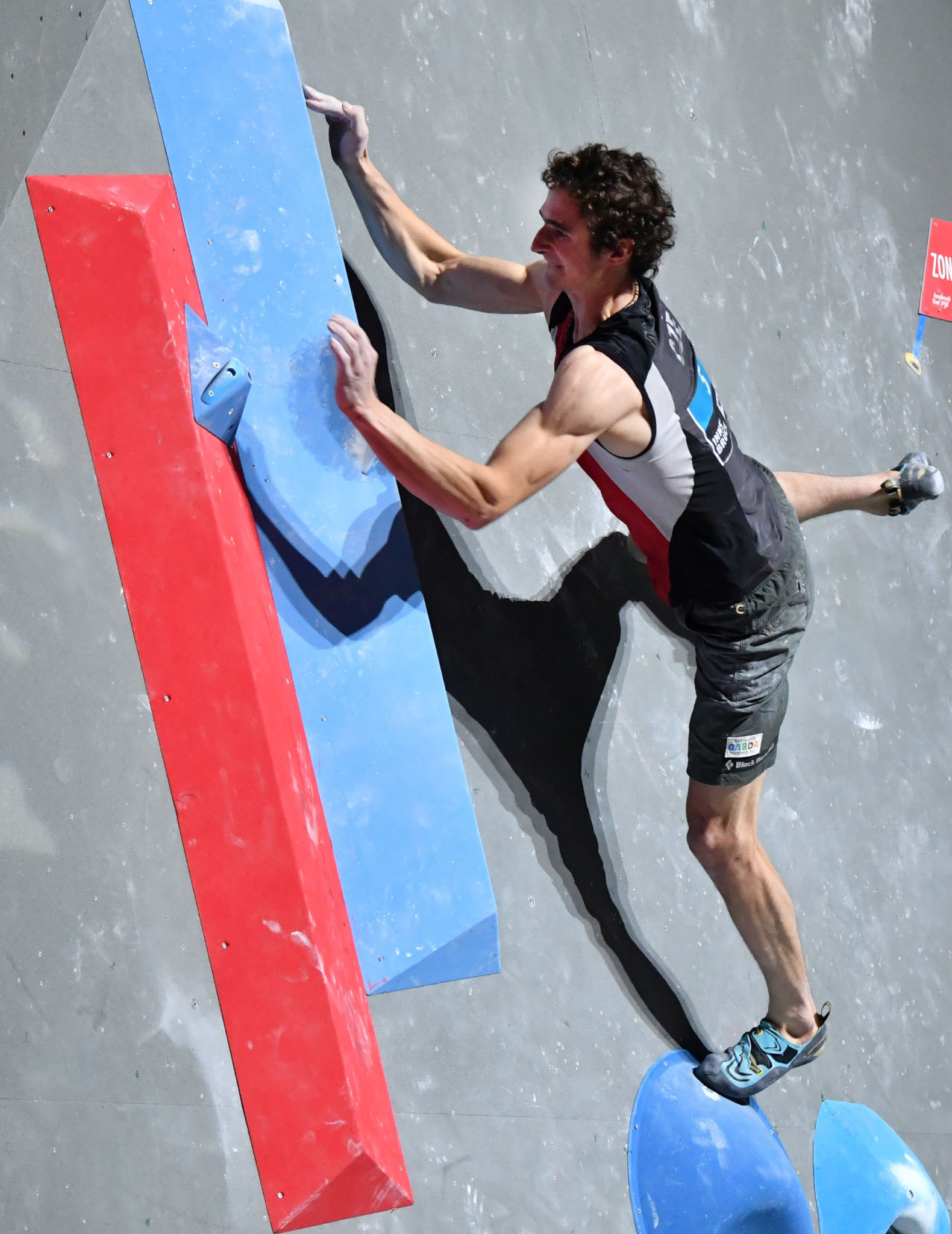 The Czech Republic's multiple world champion Adam Ondra topped men's qualifying ahead of tomorrow's IFSC Bouldering World Cup finals in Wujiang, China ©Getty Images