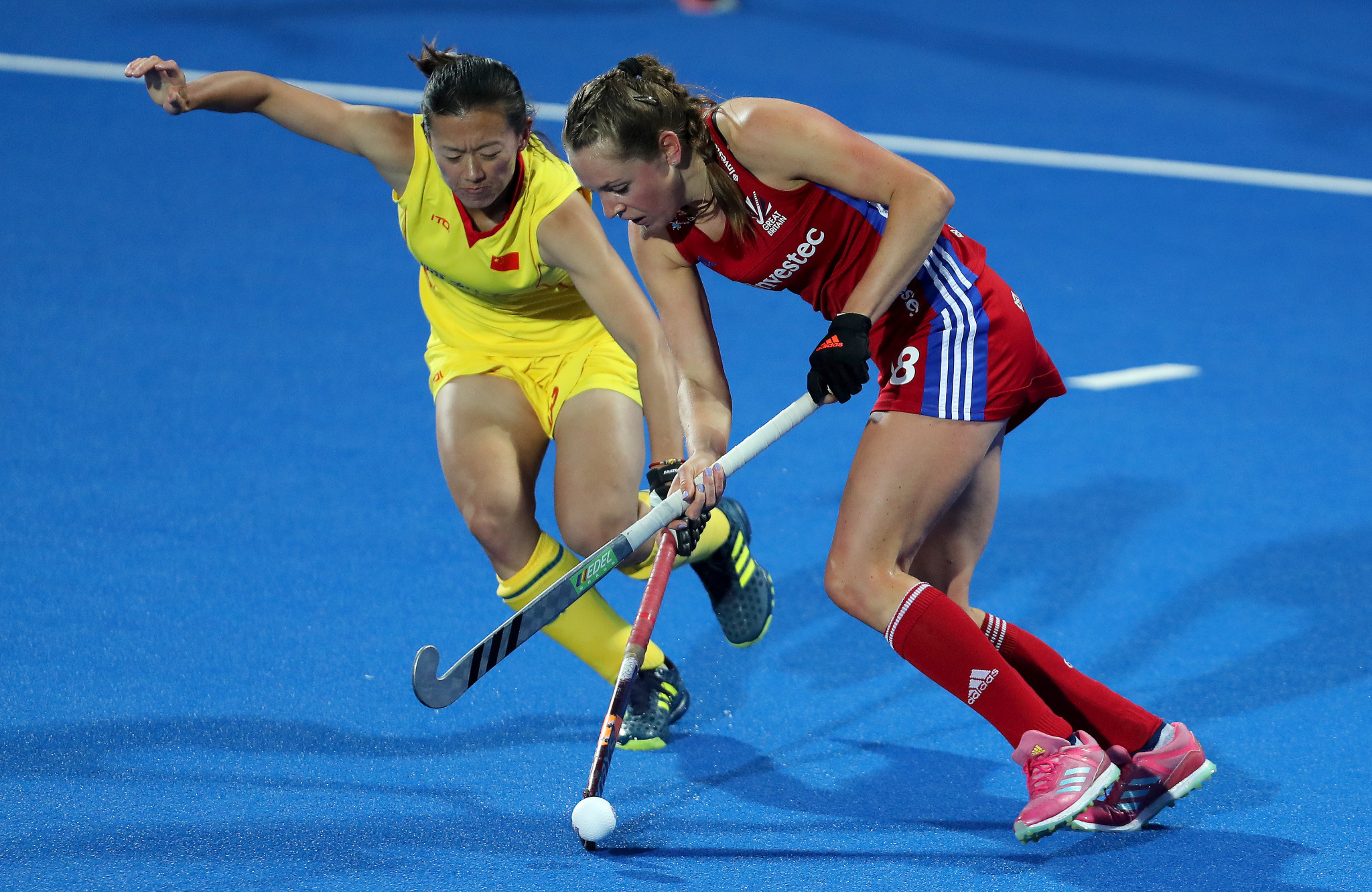 China defeated Britain 2-1 in the women's FIH Pro League in London ©Getty Images