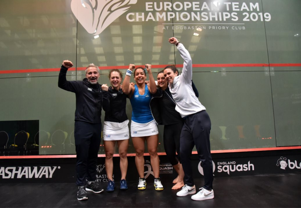 France beat defending champions England to win European Team Squash Championships