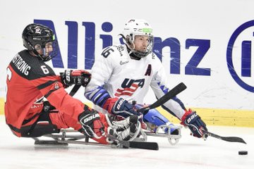 Roybal scores overtime winner as United States beat Canada to clinch World Para Ice Hockey Championships title