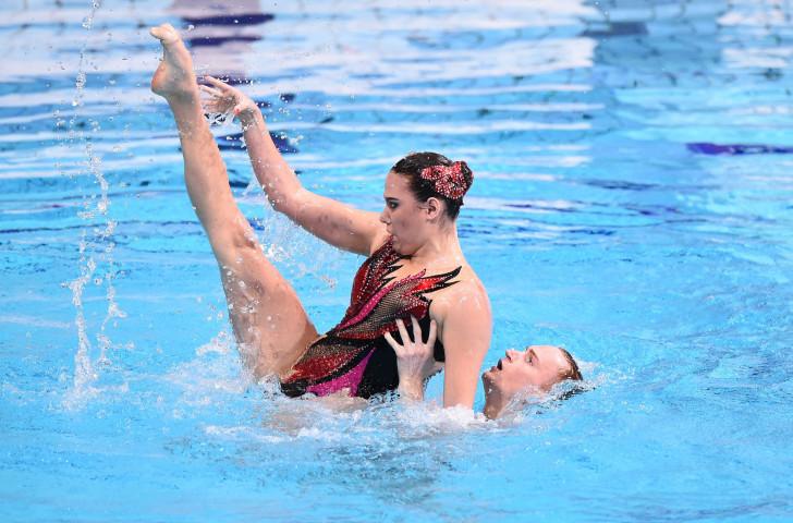Russian world champions Mayya Gurbanberdieva and Aleksandr Maltsev earned gold in Beijing ©Getty Images