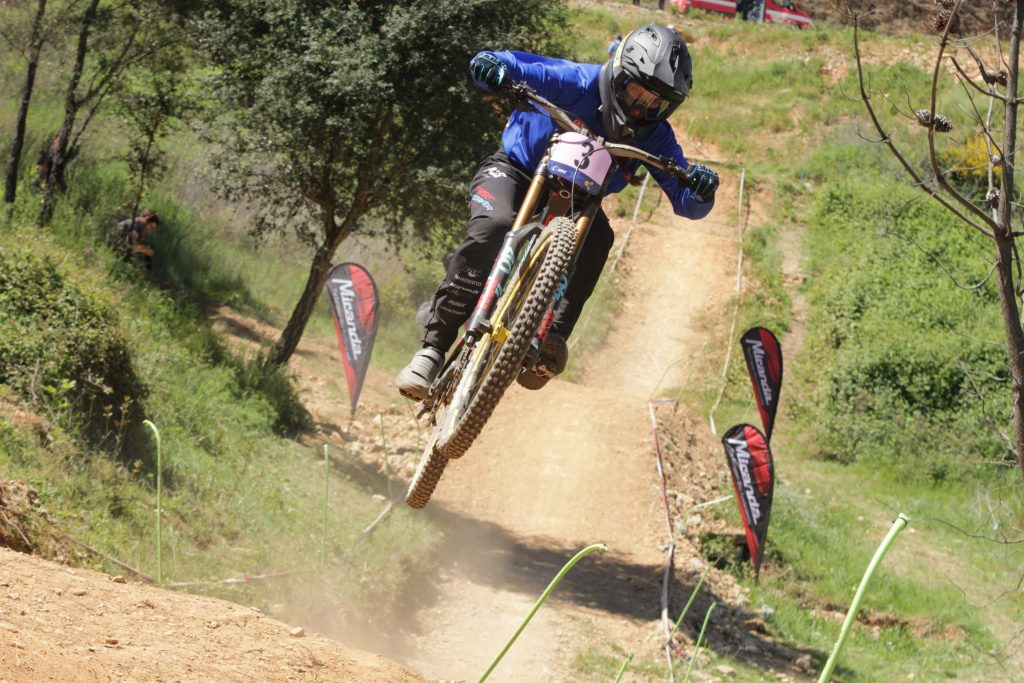 Coulanges and Farina fastest in timed sessions at European Mountain Bike Championships