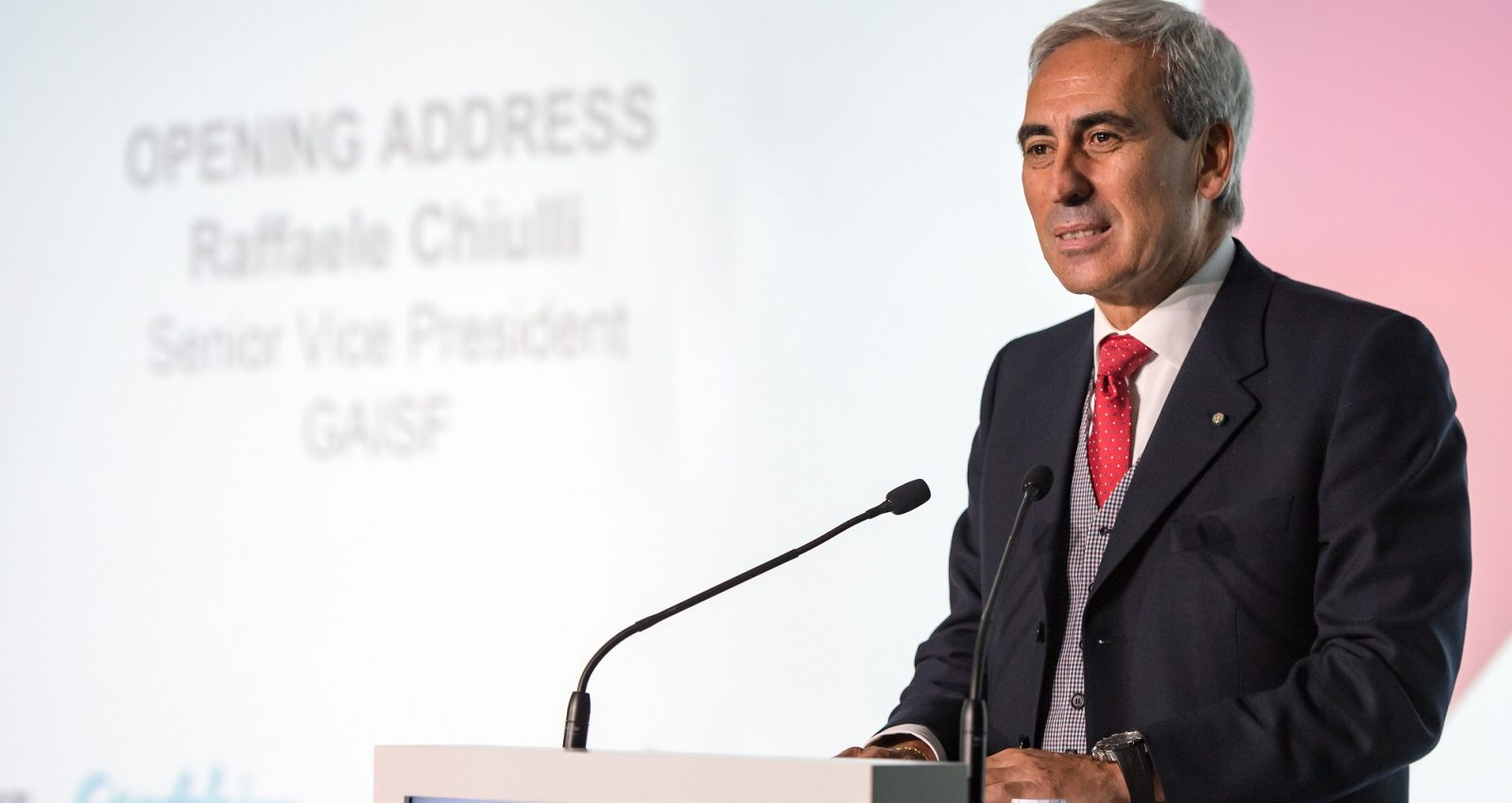 Raffaele Chiulli will be named GAISF President on Friday ©GAISF