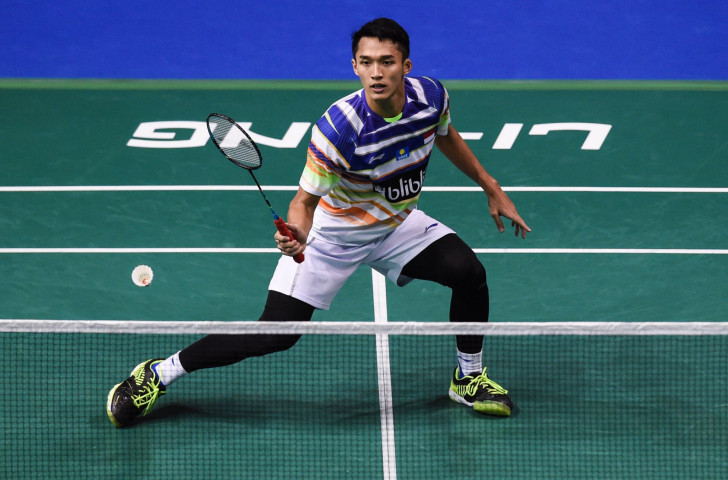 Indonesia's third seed Jonatan Christie, runner-up at the BWF New Zealand Open last year, went one better this year ©Getty Images
