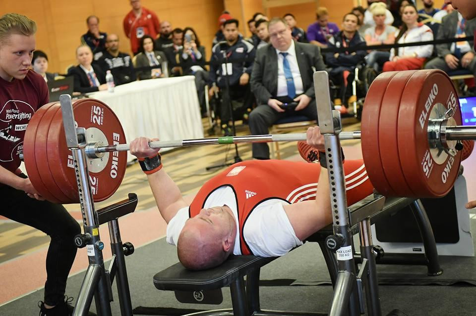 Suarez Vargas continues success for Cuba at World Para Powerlifting World Cup
