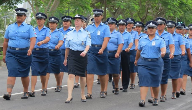 There will be a significant police presence at Samoa 2019 (Picture: Samoa Police Service)