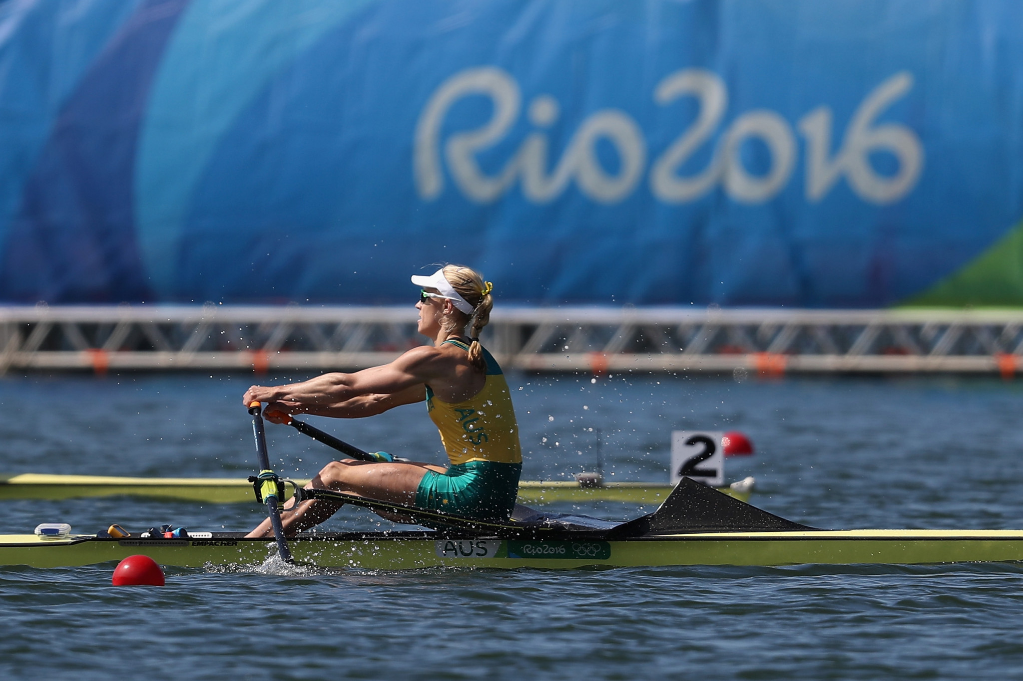 Rower Kim Brennan won an Olympic gold medal in the single sculls at Rio 2016 but at Tokyo 2020 will be one of Australia's Deputy Chef de Missions ©Getty Images