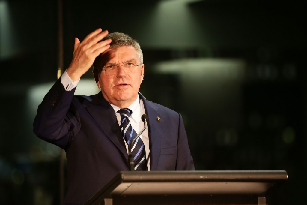 IOC President Thomas Bach encouraged a future Australian bid on a recent visit to the country