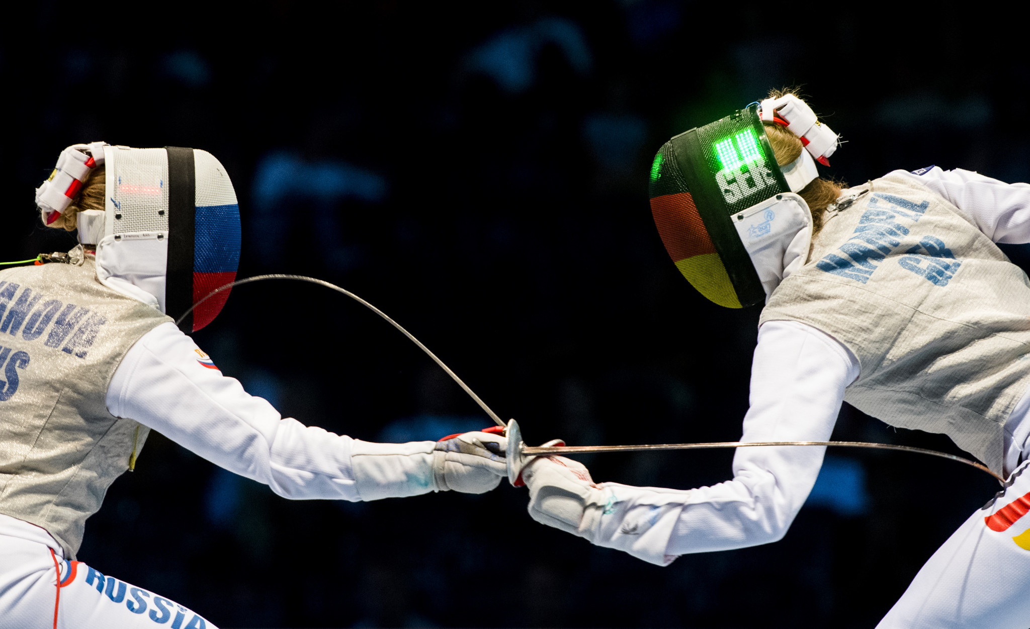 Russia claimed their second gold medal of the International Fencing Federation Women's Foil World Cup ©Getty Images