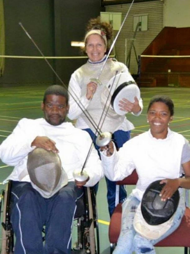 South Africa-based sports club paves the way for development of wheelchair fencing in country