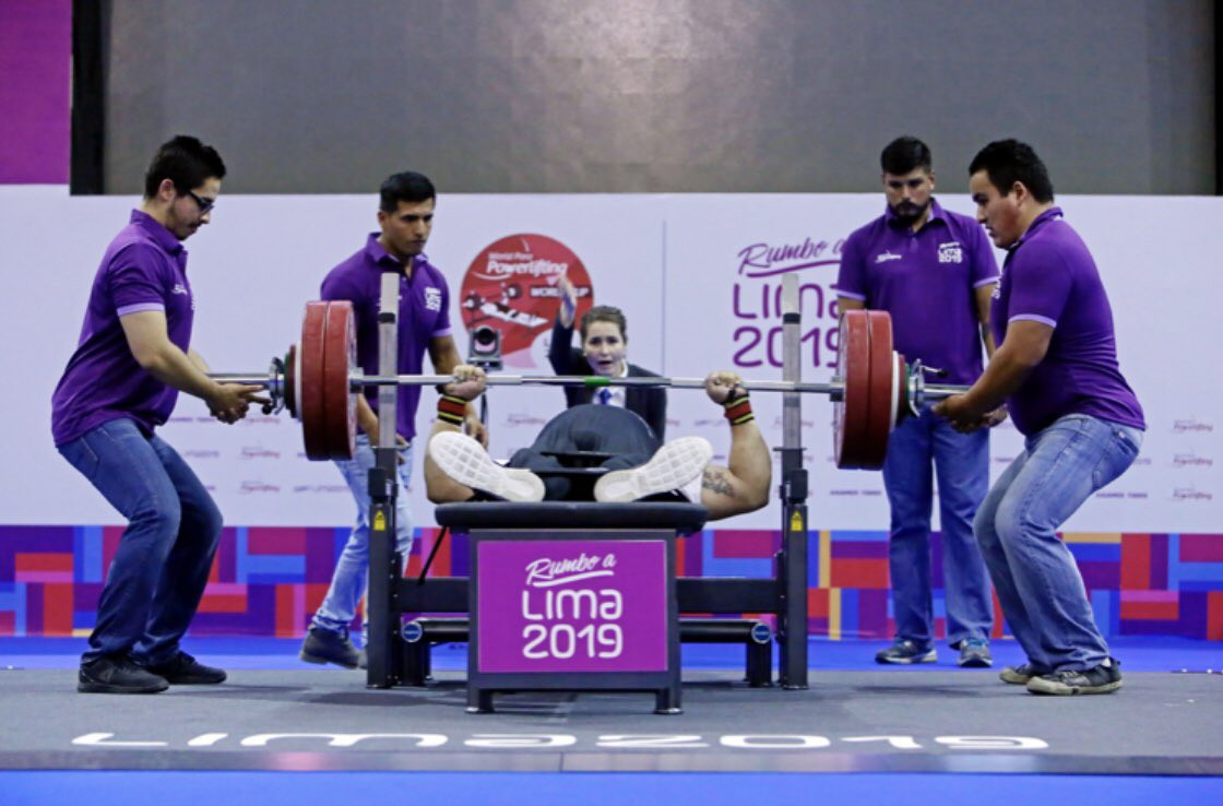 Today's action concluded the World Para Powerlifting World Cup in Lima ©World Para Powerlifting