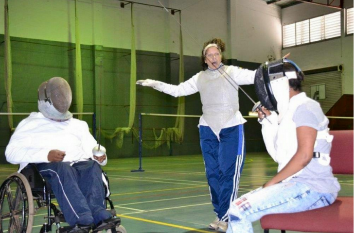 Klein Karoo Sports Club for the Disabled now has eight aspiring fencers