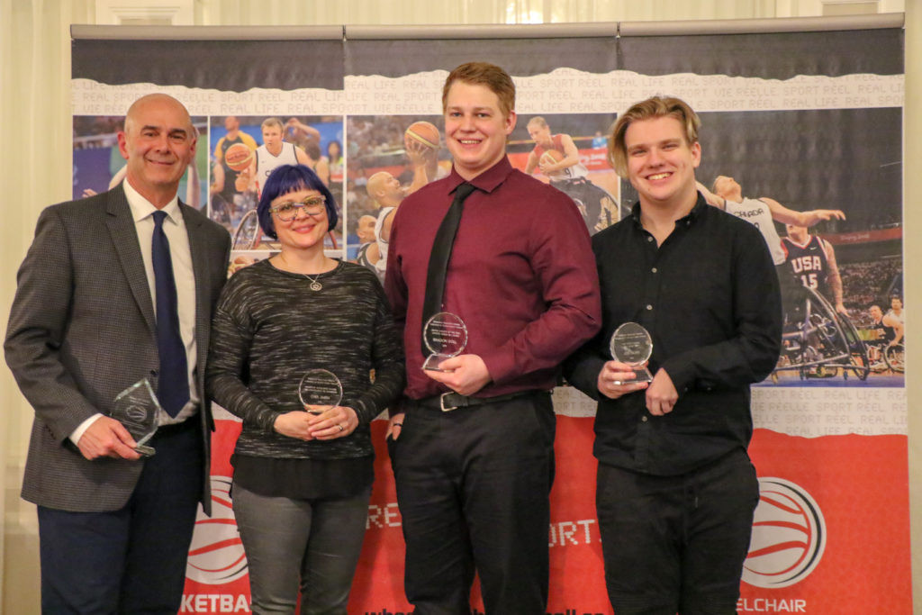 Wheelchair Basketball Canada announces annual award winners