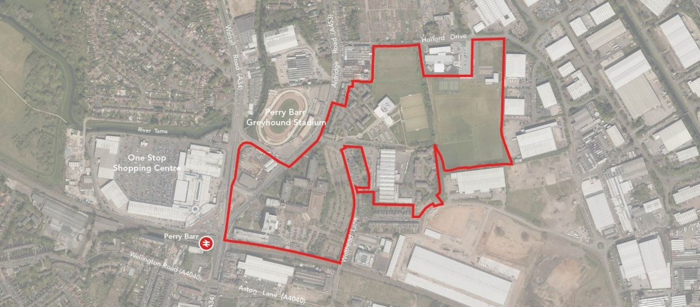 The Birmingham 2022 Commonwealth Games Athletes' Village will be located on the former site of Birmingham City University in Perry Barr ©Birmingham 2022