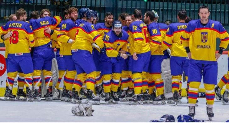 Written-off Romania find golden response at IIHF World Championships Division I Group B in Tallinn