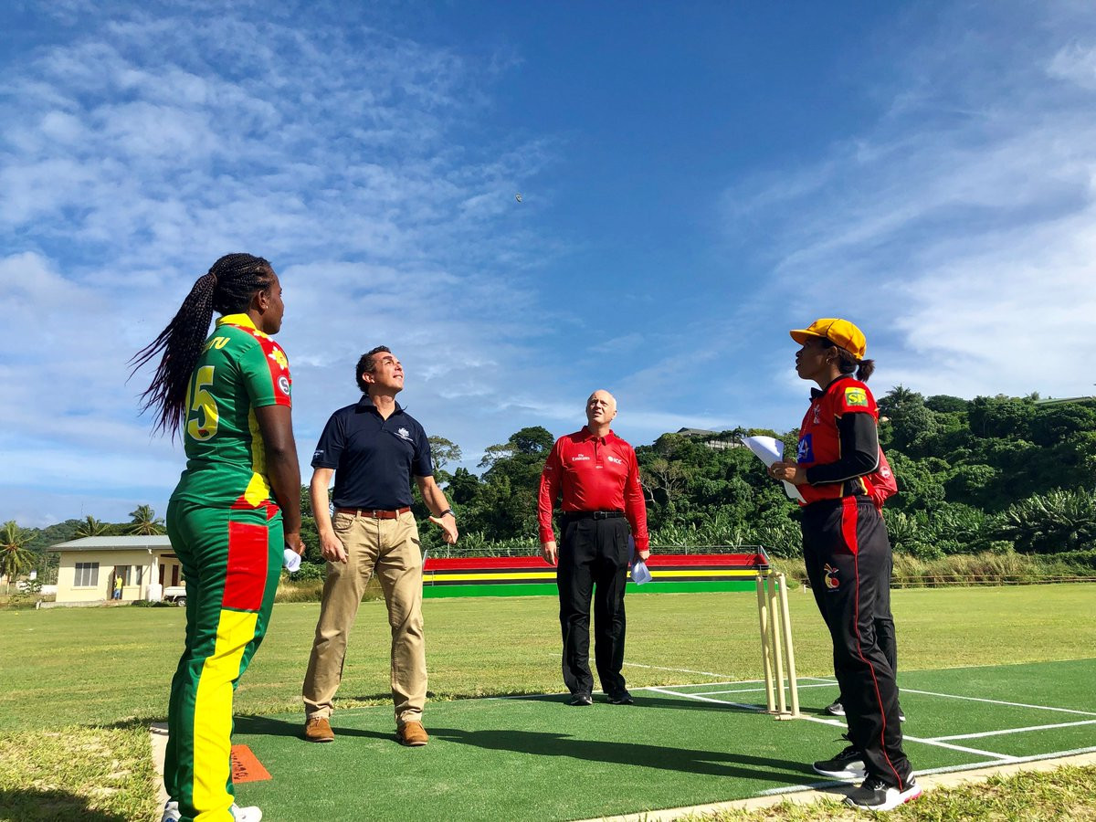Papua New Guinea defeated hosts Vanuatu at the ICC Women's Qualifier EAP 2019 ©ICC EAP