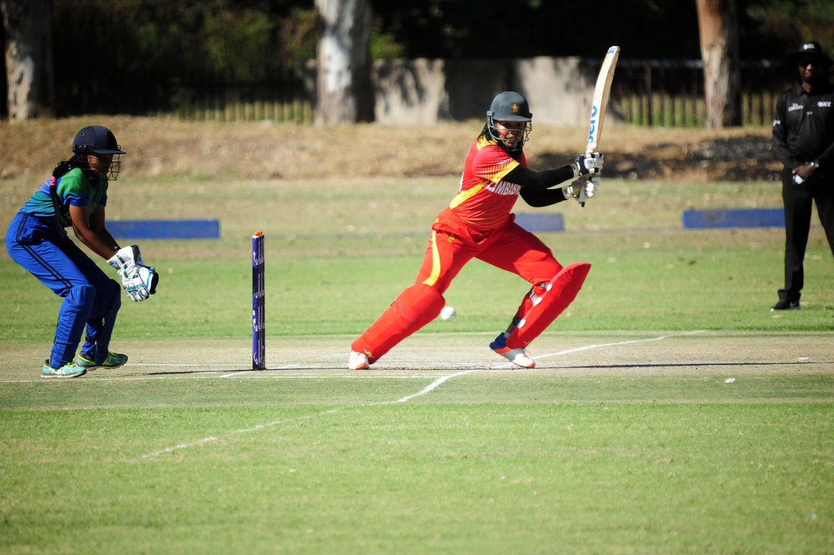Hosts Zimbabwe recorded their second win of the tournament against Tanzania at the ICC Women's Qualifier Africa 2019 ©Zimbabwe Cricket