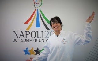 Double Olympic gold medallist Di Centa gives backing to Naples 2019 Summer Universiade