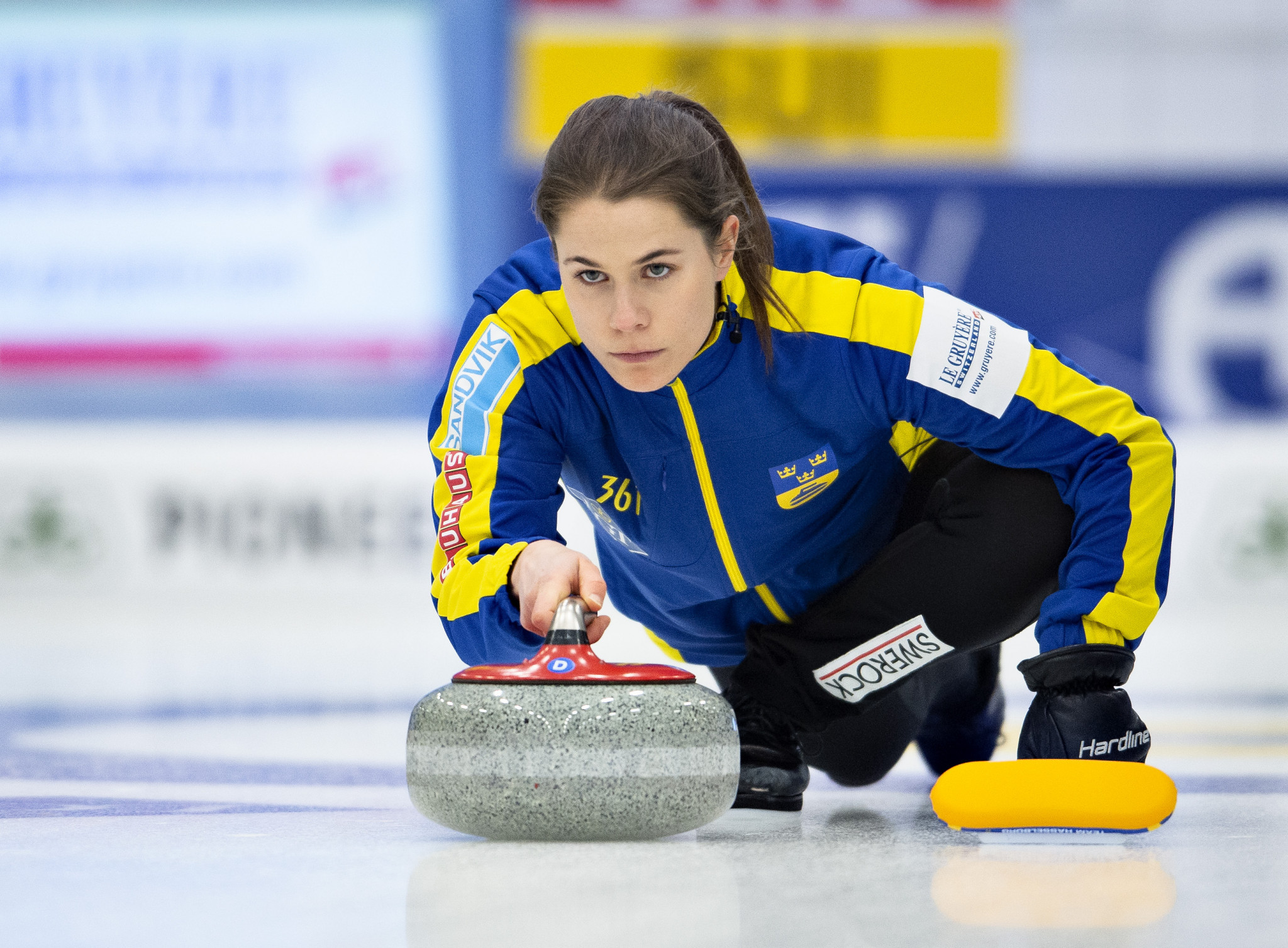 Sweden's Anna Hasselborg will be the skip for her team at the Curling World Cup grand final ©Getty Images