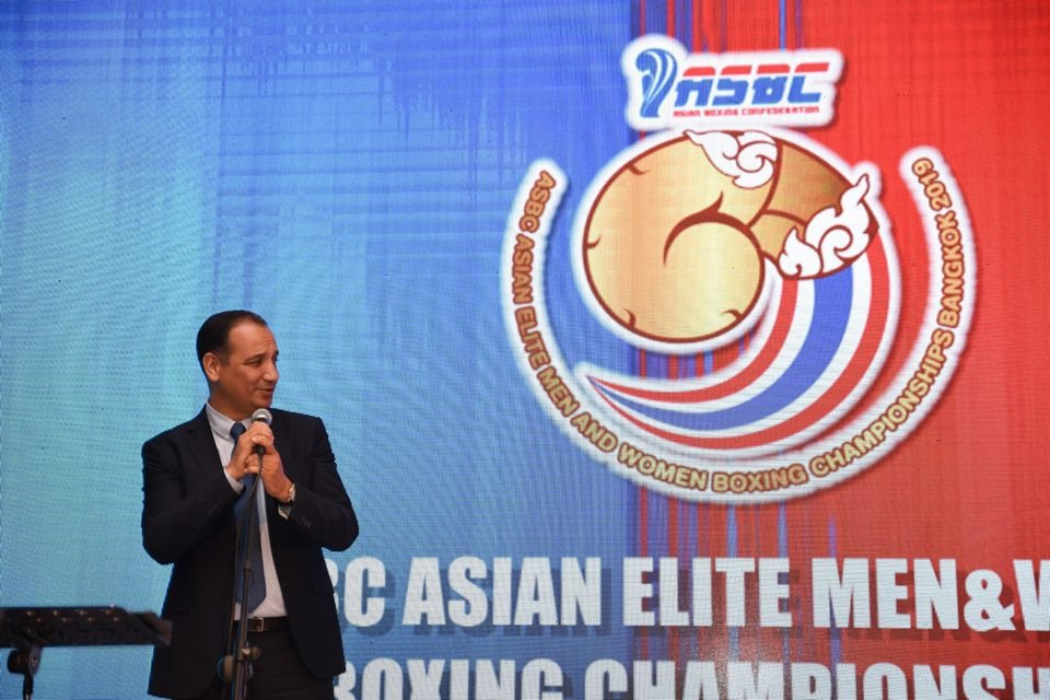 Interim President Mohamed Moustahsane suggested a lawsuit could be possible if AIBA are stripped of recognition ©AIBA