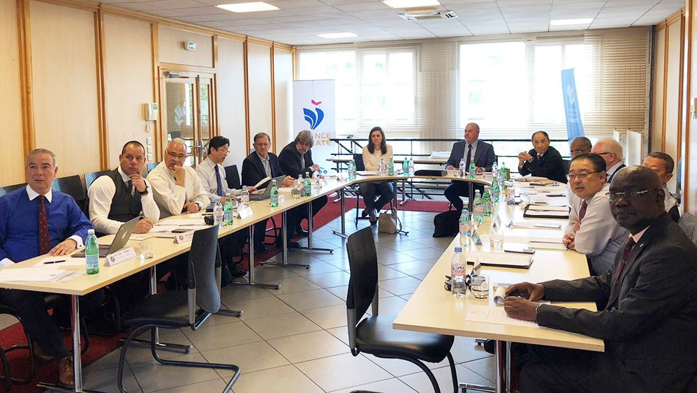 World Karate Federation stakeholders have held two days of meetings in Paris ©WKF
