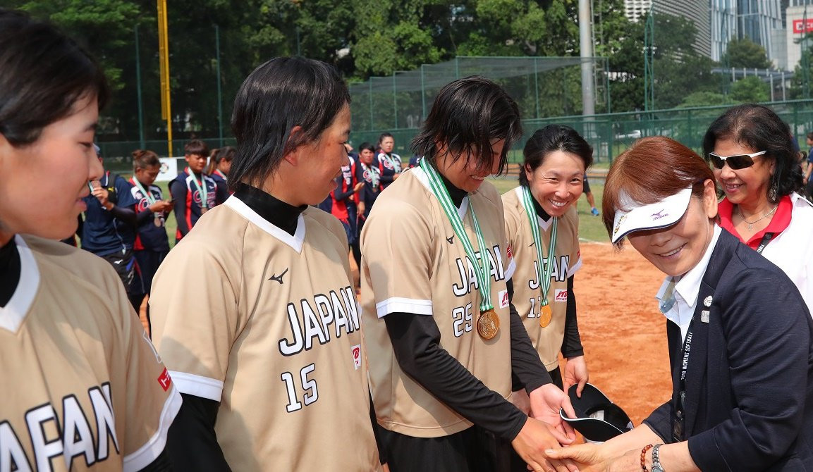 Japan claim fifth consecutive Women's Softball Asia Cup title