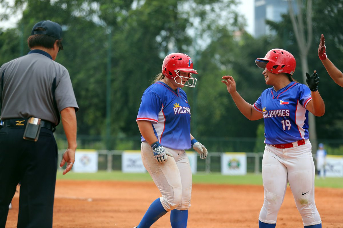 The Philippines are one of six teams which earned a place at the World Baseball Softball Confederation's Softball Asia/Oceania 2019 qualifying event for the Tokyo 2020 Games ©WBSC