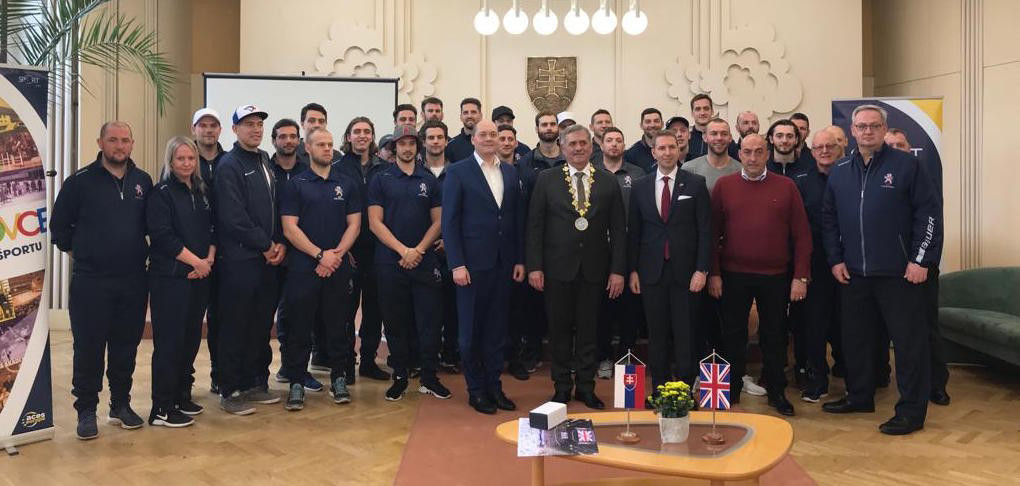 Great Britain link-up with local community in Michalovce with eagerly-anticipated IIHF World Championship campaign looming