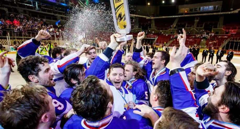 Great Britain returned to top-level hockey for the first time since 1994 after winning last year's IIHF World Championship Division I Group A event in Budapest ©IIHF/Laszlo Mudra