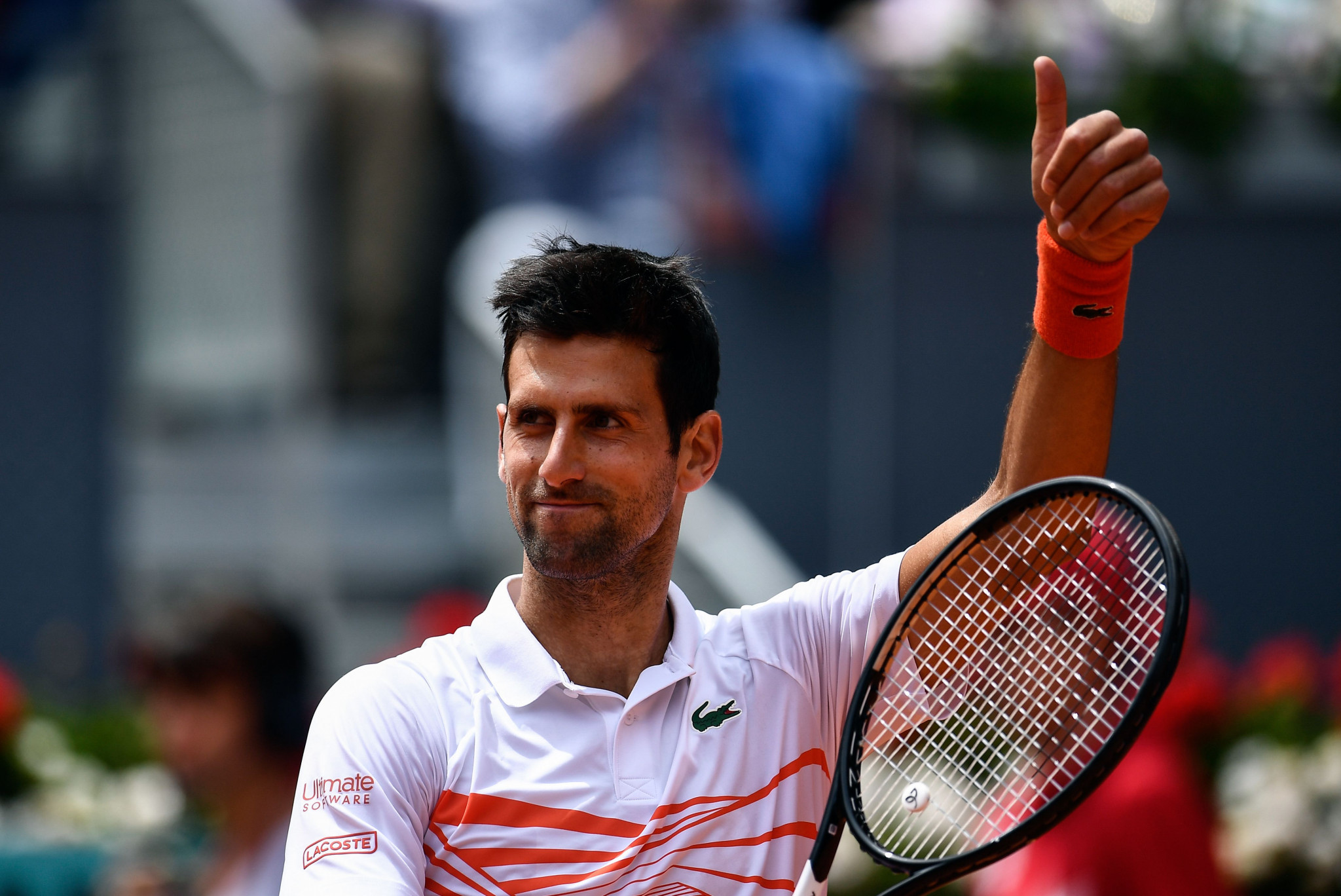 Djokovic downs American Fritz to secure last-16 berth at Madrid Open