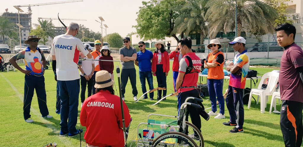 Asian Paralympic Committee and World Archery hold training courses