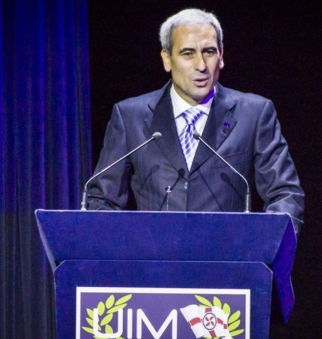 Raffaele Chiulli has been re-elected as President of the International Union of Powerboating ©UIM