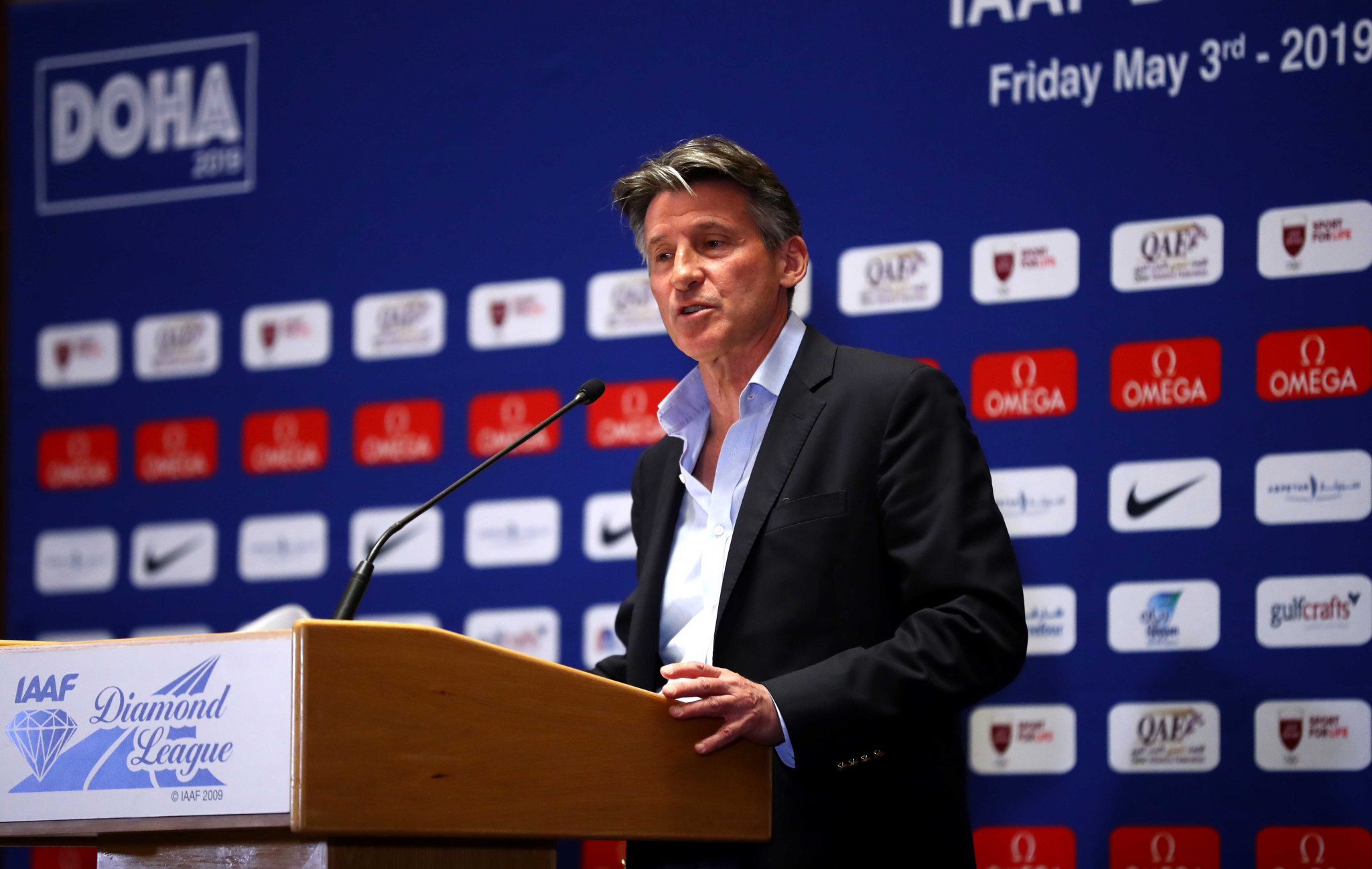 International Association of Athletics Federations President Sebastian Coe has led the campaign to have the new rules, which many claim discriminate against Caster Semenya, implemented ©Getty Images