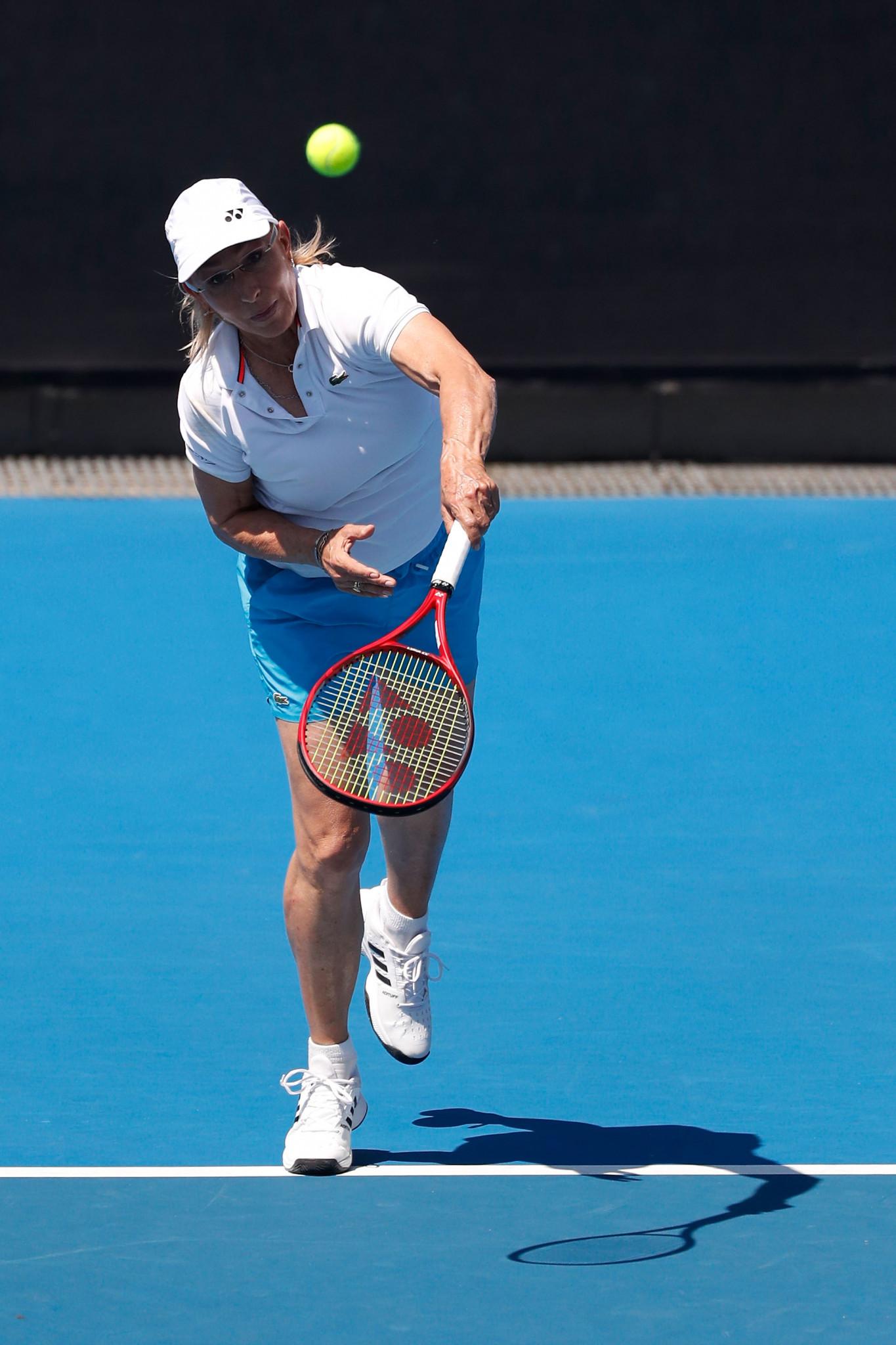 Tennis legend Martina Navratilova has thrown her support behind Caster Semenya ©Getty Images