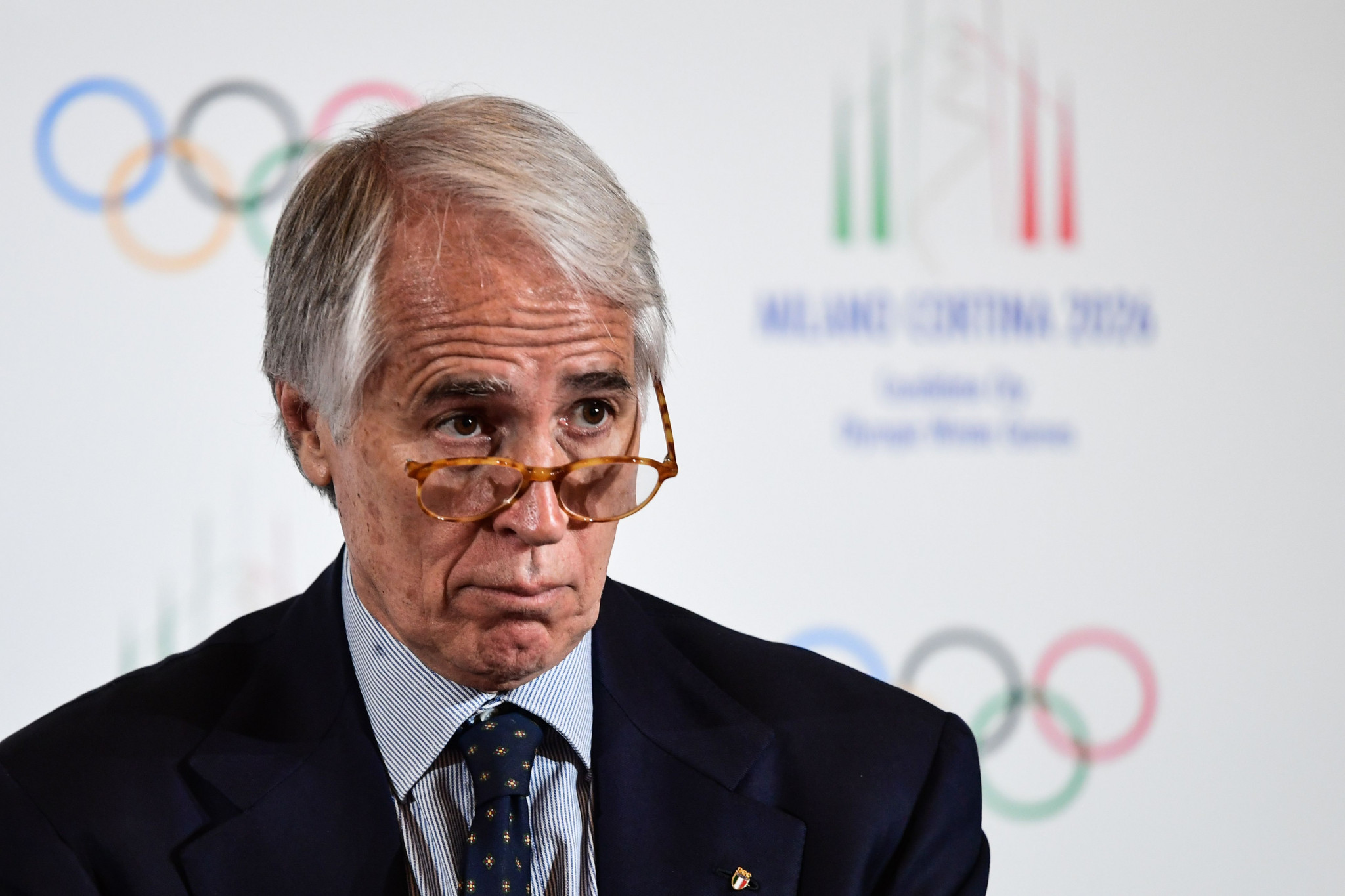 CONI President Giovanni Malagò has stated he would be the Milan Cortina Organising Committee President ©Getty Images