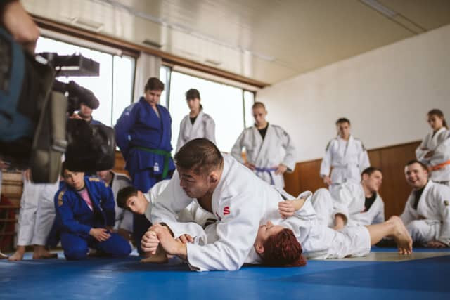 The session received widespread media coverage across Croatia ©IJF