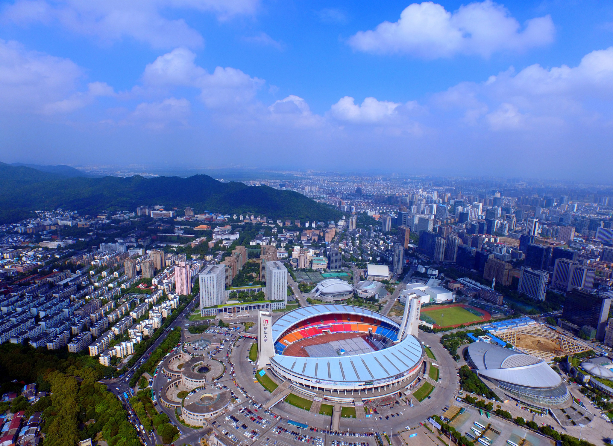The Chinese city was awarded the hosting rights for the 2022 Asian Games in September 2015 ©Getty Images