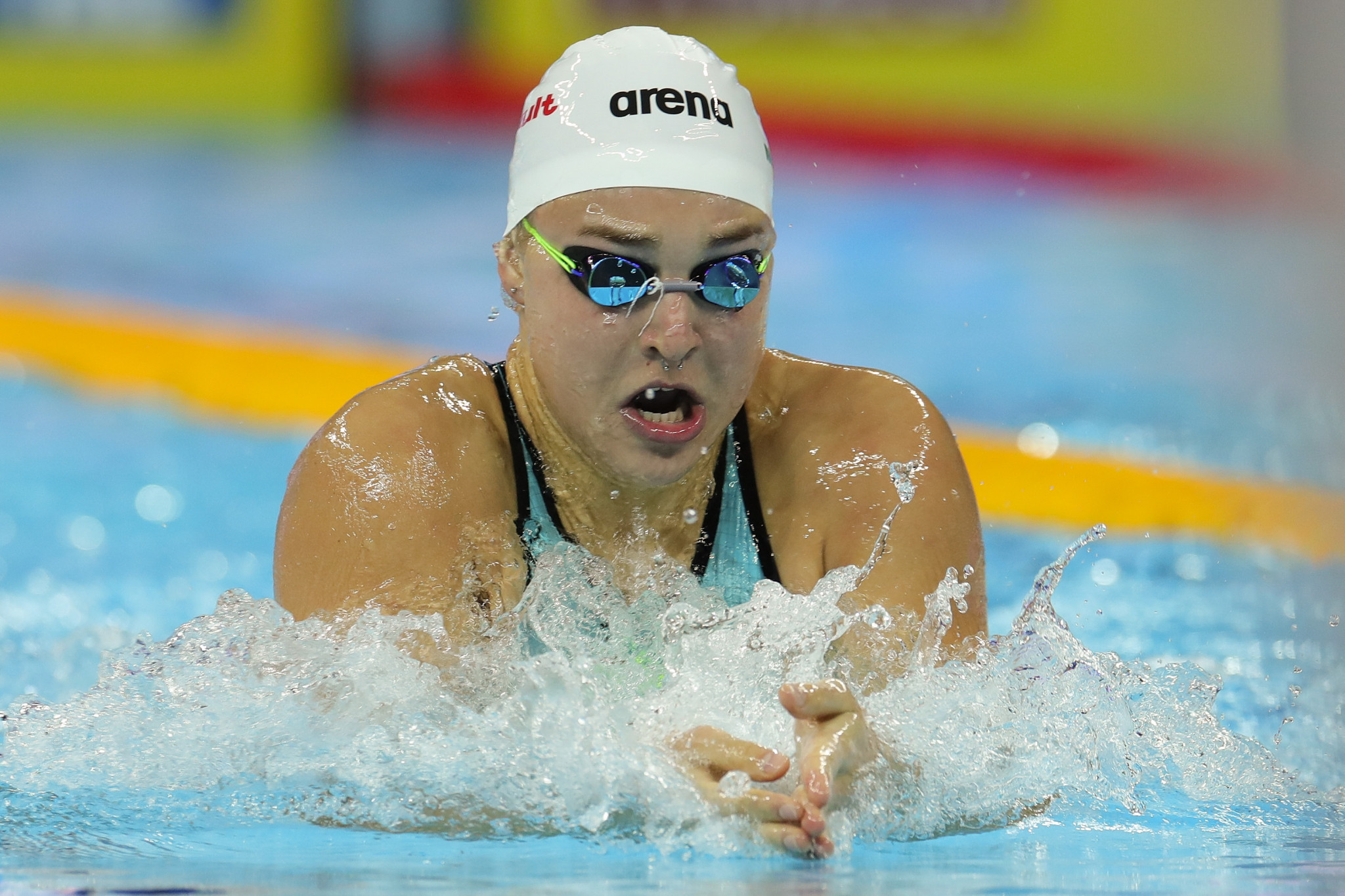 Lithuanian swimming star Rūta Meilutytė is facing a suspension after she missed three drugs tests in 12 months ©Getty Images