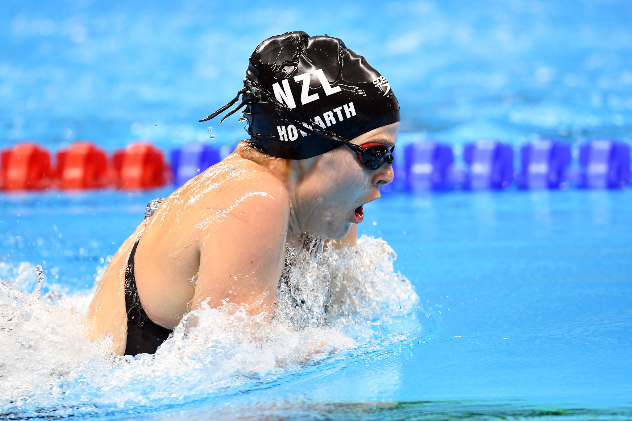 Nikita Howarth won two medals at the Rio 2016 Paralympic Games, including gold in the women's 200m medley SM7 event ©Getty Images