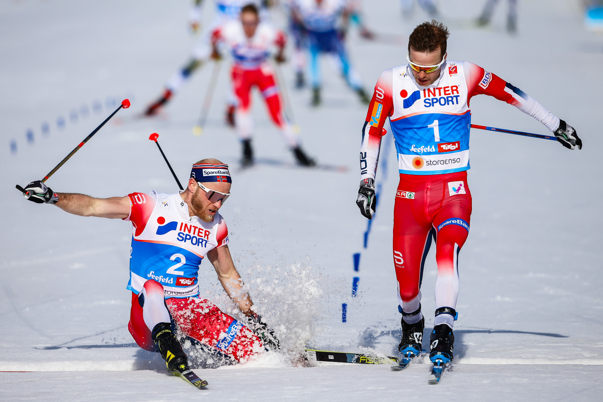 Norway dominated the cross-country events at the Nordic World Championships in Seefeld ©Getty Images