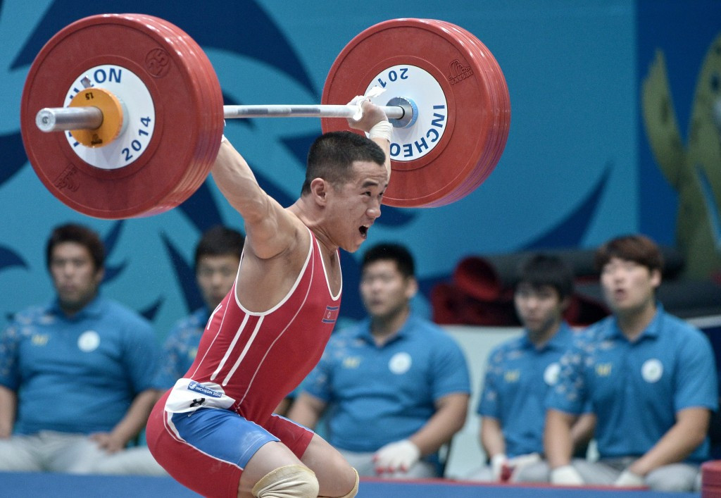 North Korea's Om Yun-Chol will travel to Houston as the reigning Olympic and world champion in the men's 56kg