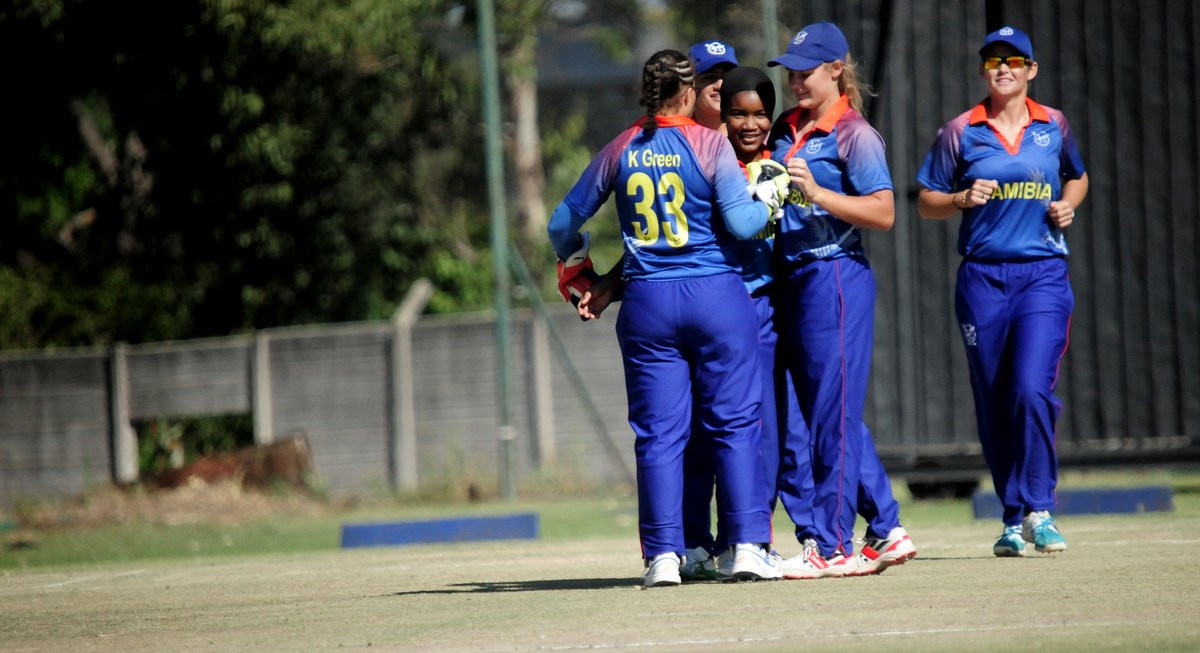 Namibia have reached the final of the ICC Women's Qualifier Africa 2019 ©Zimbabwe Cricket