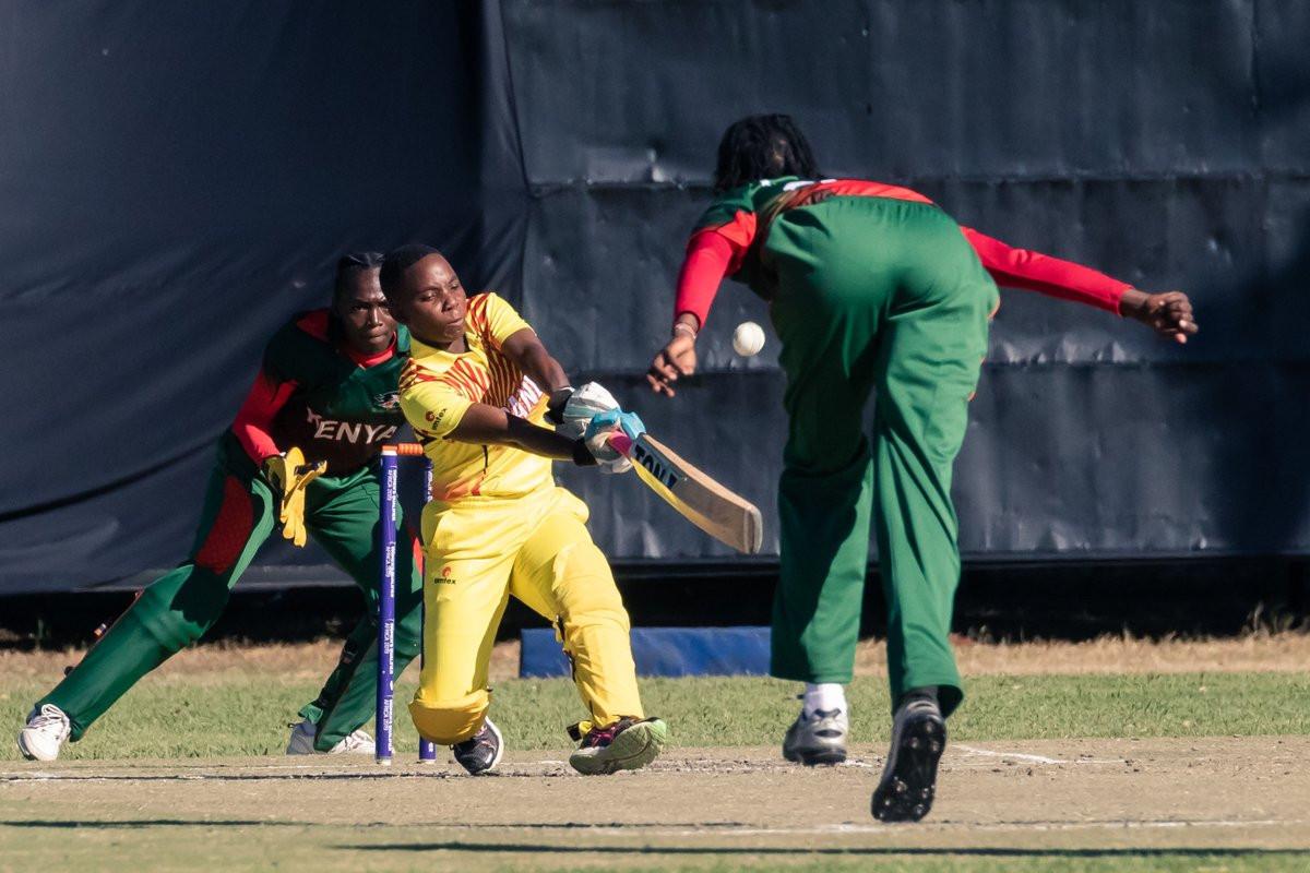 Uganda narrowly defeated Kenya at the ICC Women's Qualifier Africa 2019 ©Zimbabwe Cricket