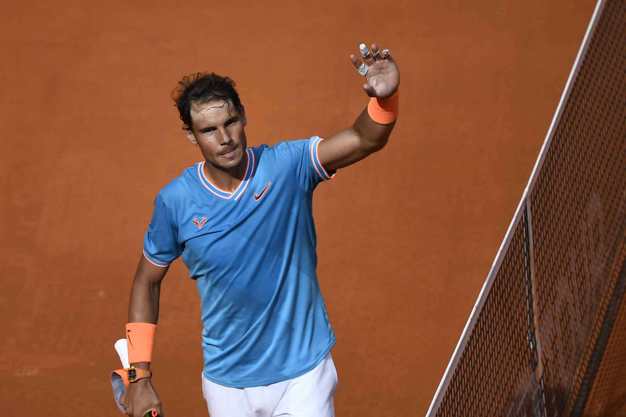 Nadal through to round of 16 at Madrid Open