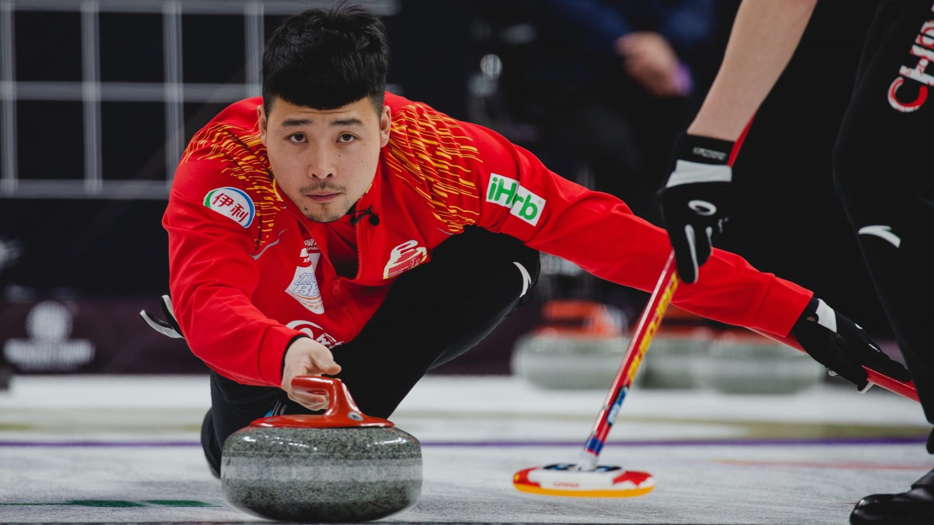 World champions defeated by hosts on opening day of Curling World Cup grand final in Beijing